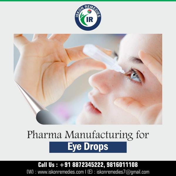 Eye Drops Manufacturer in Baddi | Top Eye Drops Manufacturng Company