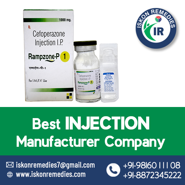 Cefoperazone injection manufacturer in India