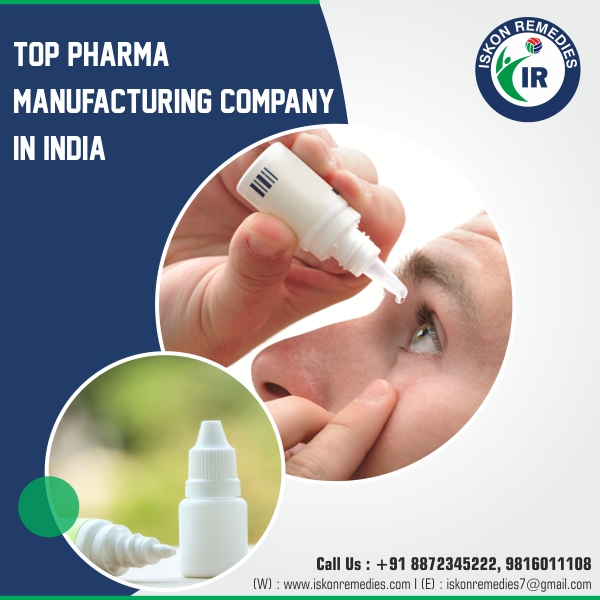 CMC Eye Drop Manufacturers in India