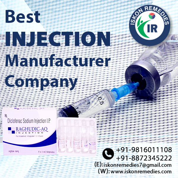 Injection Manufacturer Company in Madhya Pradesh
