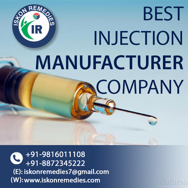 Best Injection Manufacturer and Supplier in Jharkhand