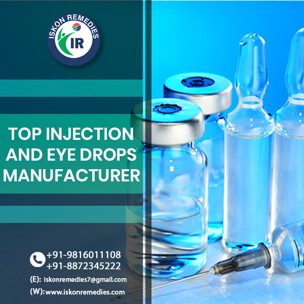 Top Injection and Eye Drops Manufacturer in Odisha